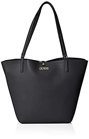 GUESS Alby Toggle Tote, Black
