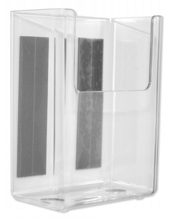- Marker Holder, Clear, 2-7/8 In.W x 4 In. H