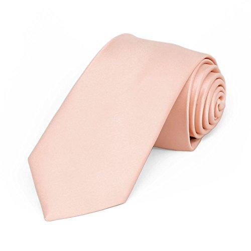 TieMart Petal Premium Slim Necktie, 2.5
