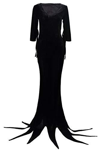 Morticia & Gomez Addams - Dynso Womens Addams Costume Morticia Addams
