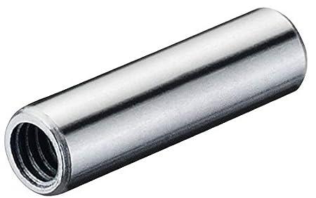 Stahl verzinkt Gedotec M/öbelschrauben M4 H/ülsen-Schrauben 30 mm Verbindungsschraube f/ür Bohrloch /Ø 5 mm M/öbelverbinder Schrauben 40 mm 20 St/ück Gewindeh/ülse mit Innengewinde M4 Holz-Dicke 36