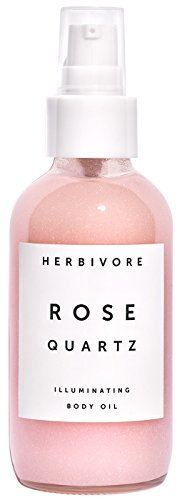 Usa Quartz Carbon (Herbivore Botanicals - Natural Rose Quartz Illuminating Body Oil (4 oz | 120 ml))