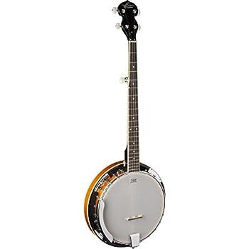Oscar Schmidt OB4 5-string Banjo, Gloss Finish