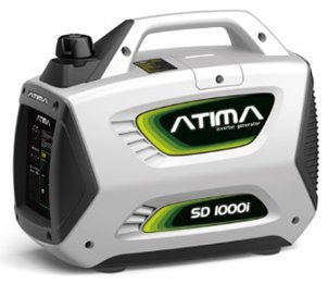 Atima SD1000i 1,000 Watt 4-Stroke Gas-Powered Quiet Portable