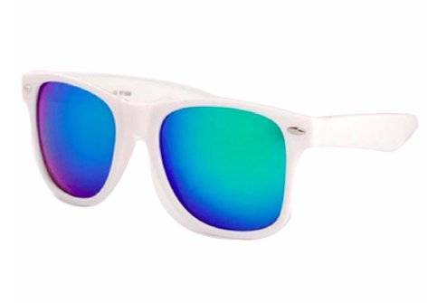 HBBM Sunglasses for Woman and Man Outdoor Vintage Fashion Mirrored - A Y C Sunglasses M