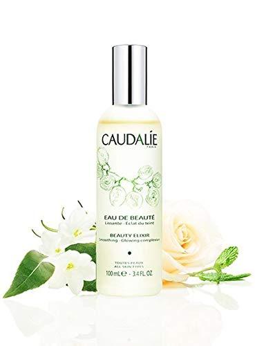 CaudalÍe Paris Beauty Elixir Eau de Beaute Spray. Refreshing and Lightweight Face T1r to Tighten Pores, Set Makeup, and Improve Oily Skin and Complexion, 3.4 Fl. Oz