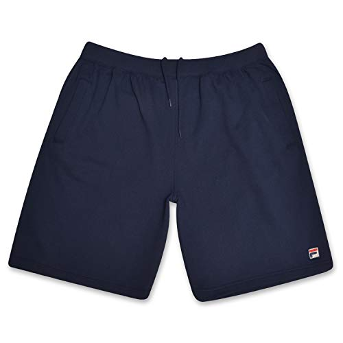 - Fila Big and Tall Mens Cotton Fleece Lounge Wear Short Navy 3XT