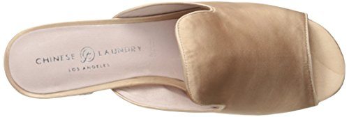 Laundry Women's Mule Summer Mara Chinese Satin Nude 1BqOUdxw