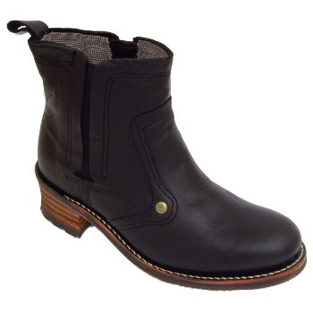 Ladies Black Caterpillar Cat Jodie Leather Womens Ankle Boots  Amazon.co.uk   Shoes   Bags daa5f63ad