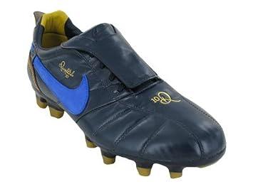Nike Men's NIKE TIEMPO RONALDINHO FG SOCCER CLEATS 12 (OBSIDIAN/VRSTY  ROYAL/MTLLC