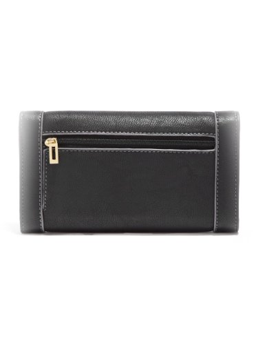 G by GUESS Women's Remy Slim Wallet, BLACK