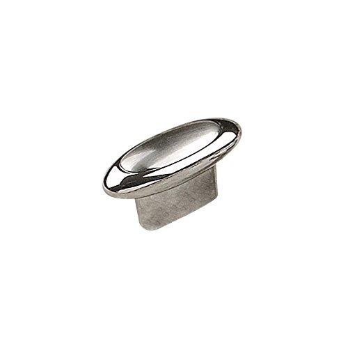 Richelieu Hardware - BP251442140195 - Contemporary Metal Knob - 2514 - Chrome Brushed Nickel  Finish