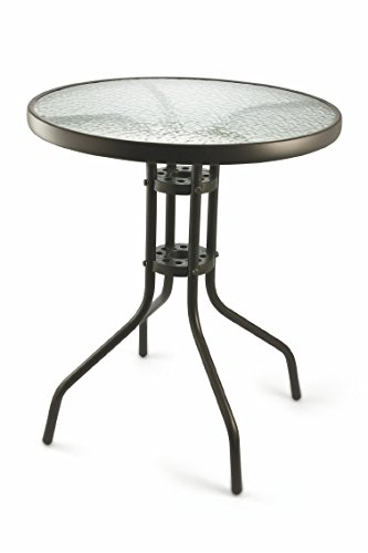 Galileo Casa Table Ronde 60 Gris 70 cm de Hauteur Plateau en ...