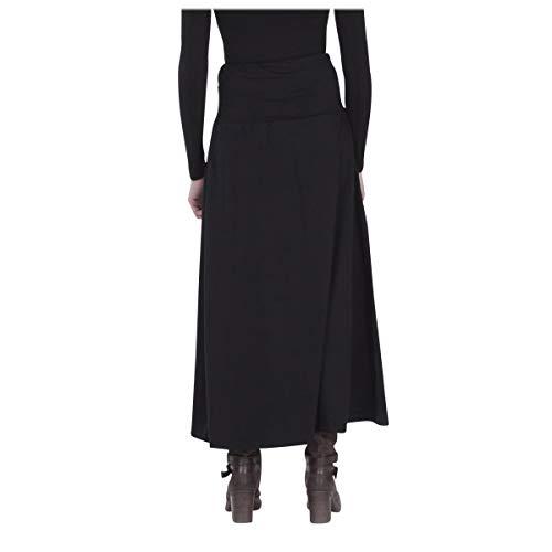 Imprime Jersey Longue XL Femme Violet Jupe de L LE Noir MOON Unie ORANGE Coton q16Yaa