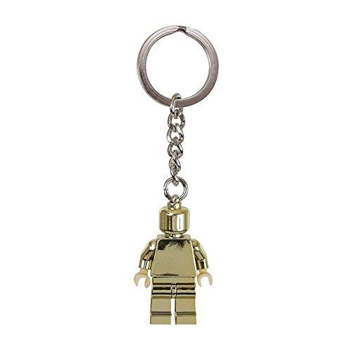 (Lego 850807 Golden Minifigure Keychain Key Chain)