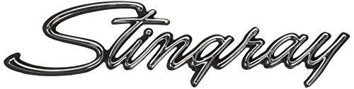 (Trim Parts 5237 Front Fender Emblem (1969-1973 Corvette