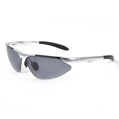 Frame Macho Gun Gafas Gafas Marine 8068 Hombres Conductores Espejo Sol Film Gafas de polarizadas KOMNY Sol Ash retrovisor de wq4BTXw