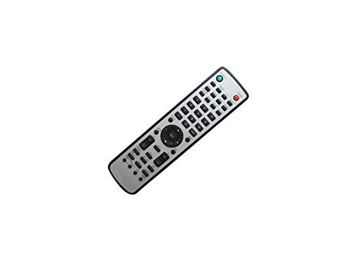 Calvas Remote Control For NEC MultiSync RU-M117 NEC P401 P461 P521 P551 V422 V462 V651 X431BT LCD Monitor Flat Panel Display (Display Flat Multisync Nec Panel)