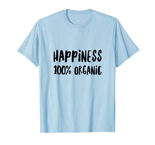 Happiness Organic Cotton Tee - Happiness 100% Organic