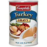 Campbells Turkey Gravy with Real Stock (Case of 24)