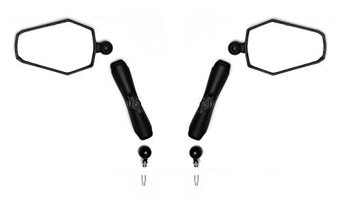 Doubletake Mirror - Indestructible Motorcycle Mirrors - Adventure Set (Best Ktm Dual Sport)