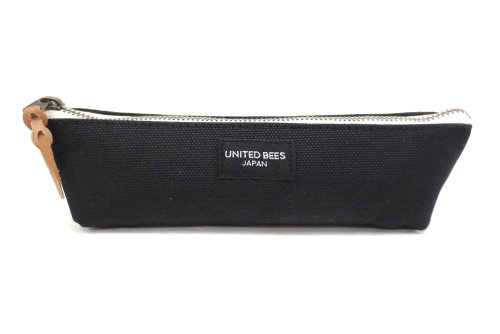United bees Pen case pouch, Japanese-made canvas, black UBM-BPN-01 (United Pen compare prices)