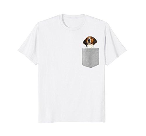 (Dog in Your Pocket Treeing Walker Coonhound T-shirt)
