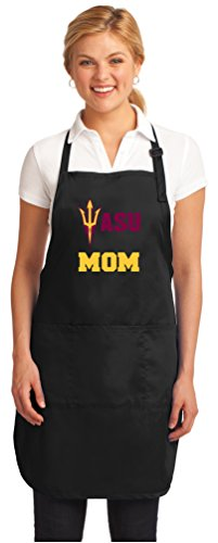 - Broad Bay ASU Mom Aprons Arizona State Mom w/Pockets Grilling Gift Her