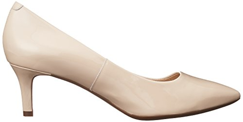 Geox D Elina C, Zapatos de Tacón Mujer Beige (SKINC8182)