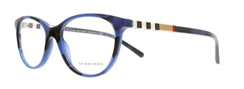 63b3f06d311 Image Unavailable. Image not available for. Color  BURBERRY Eyeglasses BE 2205  3546 Spotted Blue