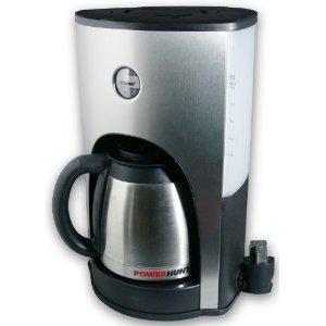 power hunt 12 volt coffee maker  appliance only  u2013 10 cup fast brew amazon com  power hunt 12 volt coffee maker  appliance only   10      rh   amazon com