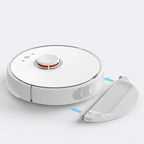 Robot Aspirateur, Contrôler La Batterie 5200Mah avec Fonction De Nettoyage Et De Balayage APP (Blanc)