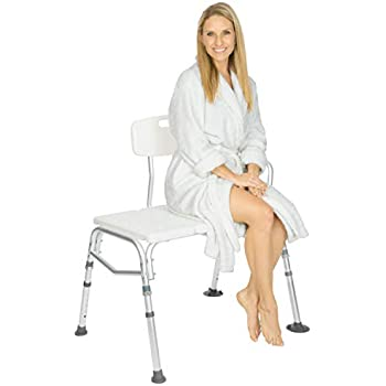 Amazon Com Drive Medical Plastic Tub Transfer Bench With