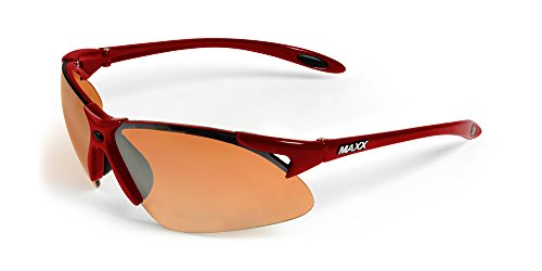 2017 Maxx Sunglasses TR90 Maxx 2 HD Red Amber Lens