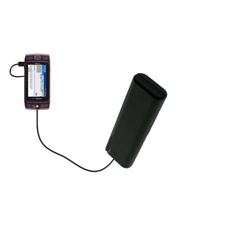(Portable Emergency AA Battery Charger Extender suitable for the T-Mobile Sidekick LX - with Gomadic Brand TipExchange Technology)