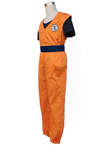 Fashion Cos Dragon Ball Son Goku Martial Art Uniform Cosplay Costume-Male-Medium
