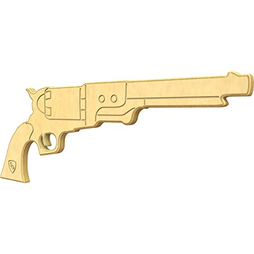 Handguns Black Powder (SturdiGuns Kids Hog Leg Wooden Toy Gun with, made in America, Extremely Durable)