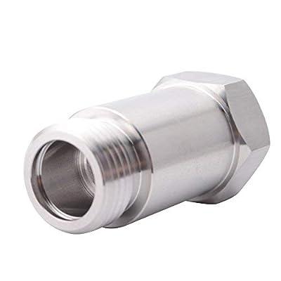 EVIL ENERGY M18 x 1.5 O2 Oxygen Sensor Restrictor Fitting Adjustable Gas Flow Inserts Cel Fix Bung: Automotive