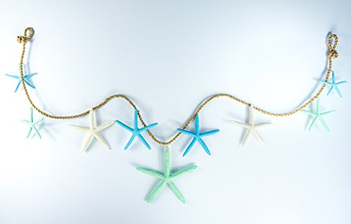 31SfFBrrKNL Beachy Starfish and Seashell Garlands