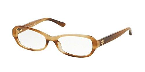 Tory Burch Designer Eyeglasses TY 2051 1416 MEDIUM HORN 51MM