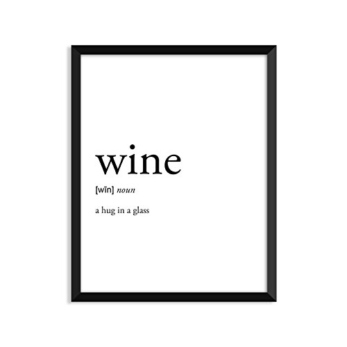 Wine Definition   Unframed Art Print Poster Or Greeting Card