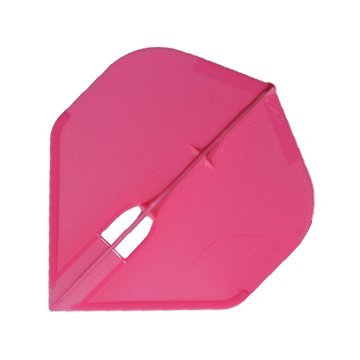 (L-Style L1 PRO Standard Shape Dart Flights Extra Durable - Hot Pink)
