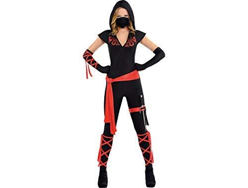 (Amscan Adult Dragon Fighter Ninja Costume - Small)