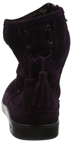 Hotter Women's Pixie Moccasin Boots Purple (Plum) nnQybAu7L