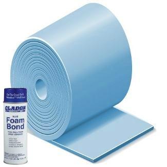 (Gladon 15 Foot Round Above Ground Premium Pool Wall Foam Kit)