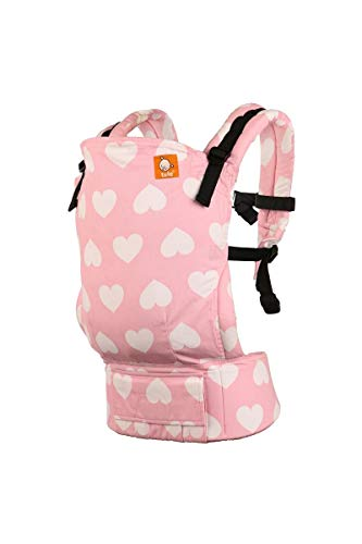 Tula Ergonomic Carrier, I Love You So Much-Standard Size(Baby), 15-45 pounds