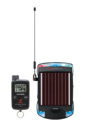 ユピテル(Aguilas) 専用工具不要 簡単取付ソーラー充電対応 リモコン...