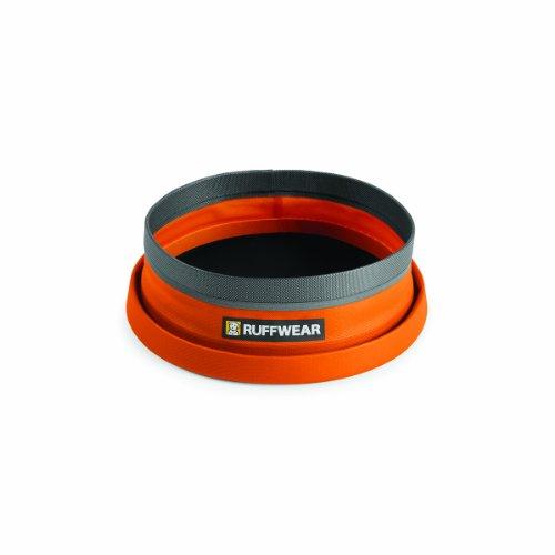 Ruffwear-Bivy-Dog-Bowl-Ultralight-Collapsible-Waterproof-Food-Bowl-Campfire-Orange-60-Fluid-Ounce-Capacity