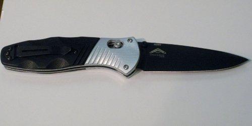 Benchmade Knife Blue Class Osborne Barrage DR Pt Axa, Outdoor Stuffs