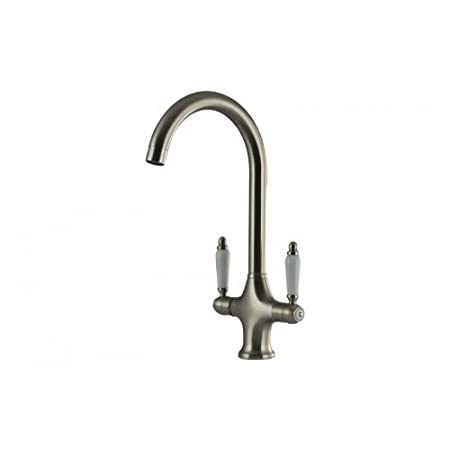 Mizzo Faucet With Nostalgic Country Style Kitchen Tap Brushed